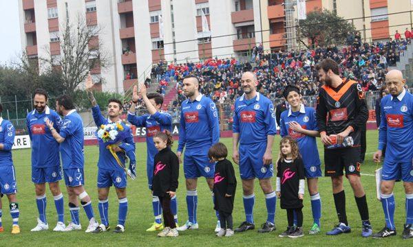 Partita di calcio della Nazionale cantanti a Fano