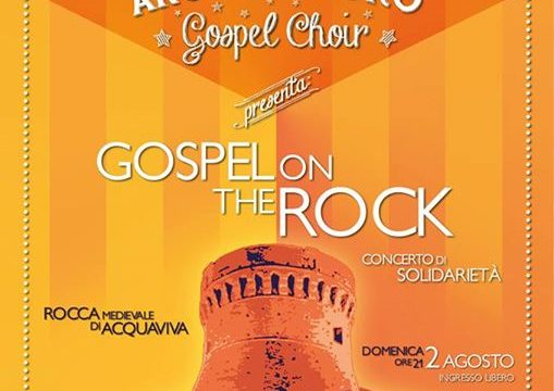 "ANCORAinCORO Gospel Choir presenta ""GOSPEL on the ROCK"" per OMPHALOS autismo e famiglie"