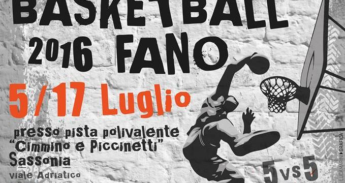 Street Summer Basketball 2016 Fano