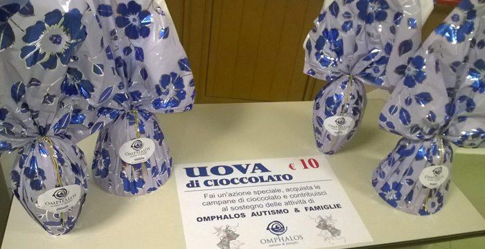 Uova e campane di cioccolato per l'Autismo
