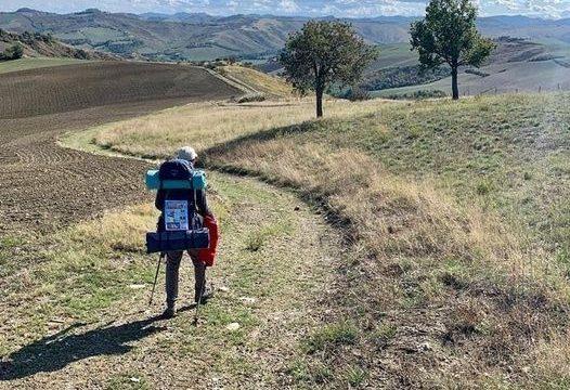 """600 chilometri a piedi a sostegno del progetto  """"Marche in Blu"""""""